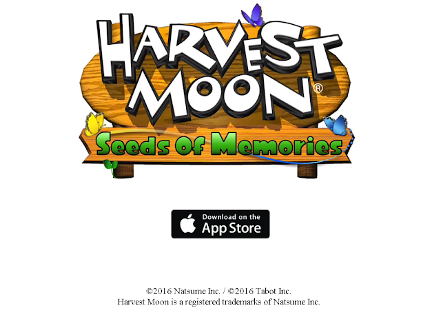 Harvest Moon Seed of Memories iOS