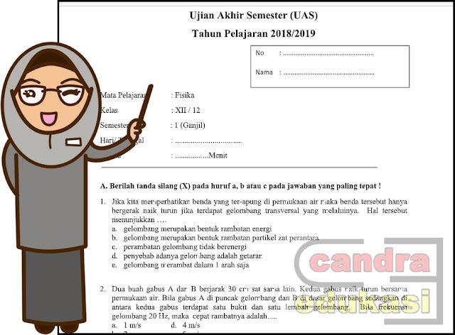 Soal Uas Fisika Kelas 12 Semester 1 Kurikulum 2013