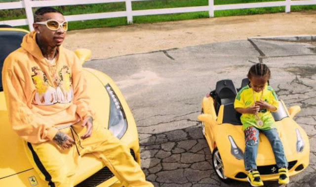 Tyga Talke About His Son King Cairo Liking Woman