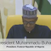 Watch Video as Buhari delivered his address to Nigerians after return from UK
