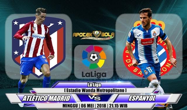 Prediksi Atletico Madrid vs Espanyol 06 Mei 2018