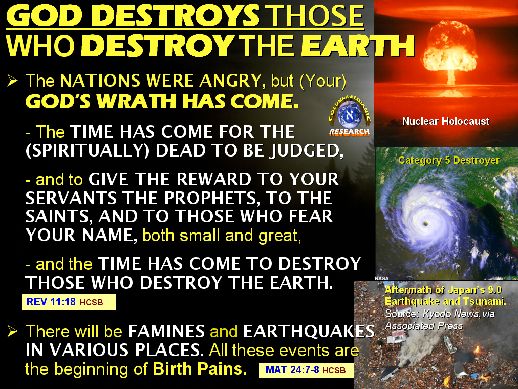 COLUMNA MESSIANIC RESEARCH CENTER: WHY DEADLY EARTHQUAKES ...