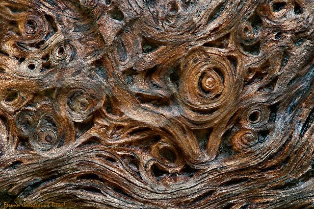 Filigrana en fibras de madera