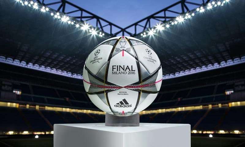 ... the new Adidas Finale 2016 UEFA Champions League Official Match Ball