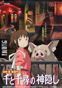 Sen to Chihiro no kamikakushi Poster