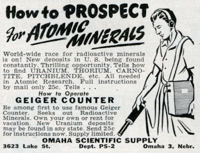 How to prospect for Atomic Minerals