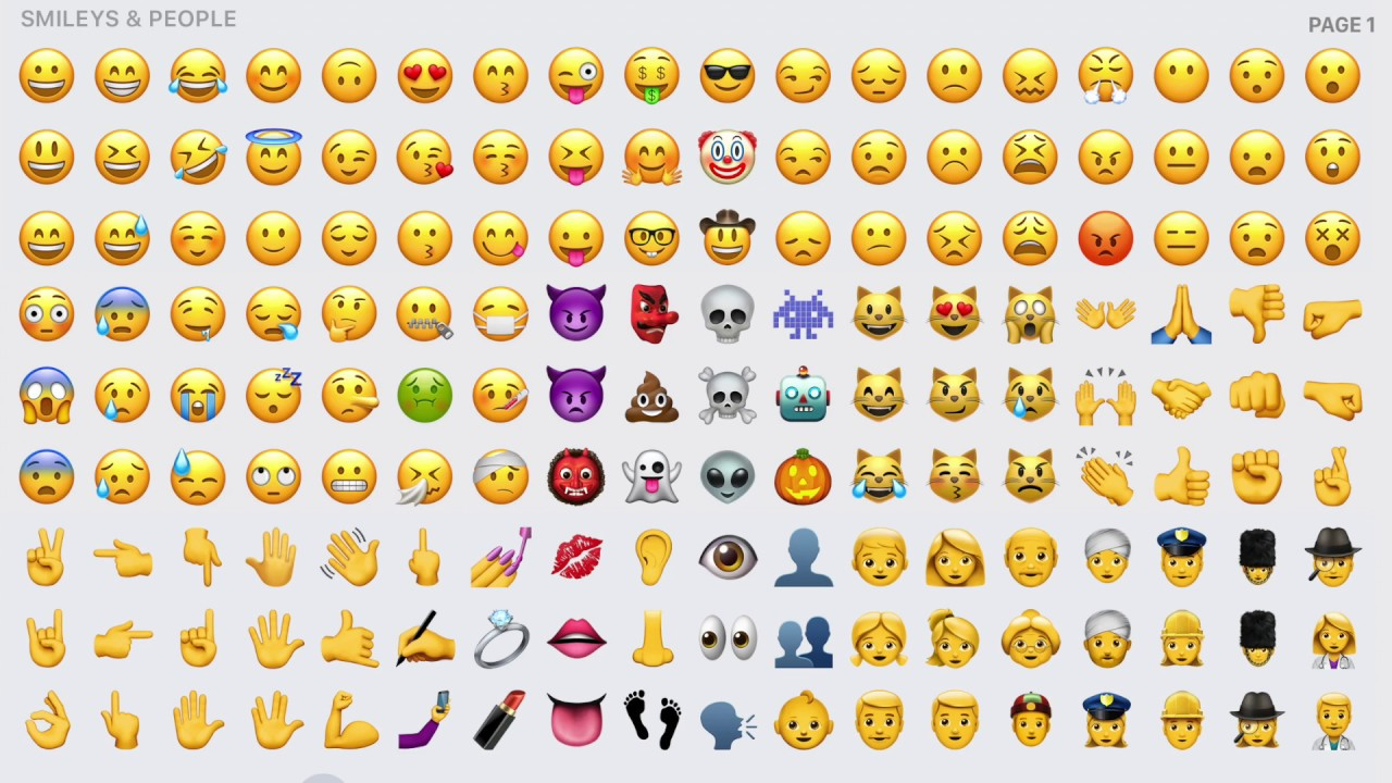 all iphone emojis spot emoji ve filmu the emoji recenze 30 10055
