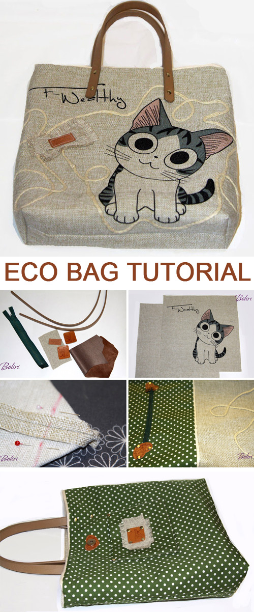 Eco Bag Tutorial
