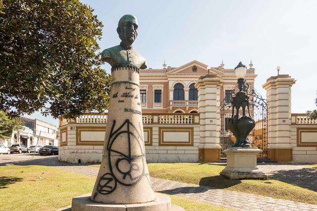Busto do Monsenhor Celso Itiberê da Cunha