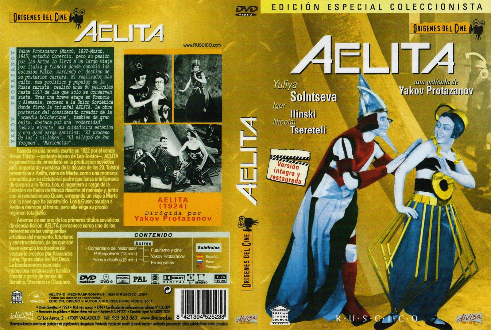 Aelita 1924 ( Cine Mudo + Subs ) Descargar y ver Online Gratis