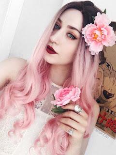 perucas rosas