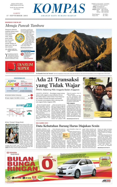 Biro Iklan Koran Kompas Agen Iklan Resmi Jakarta Agency
