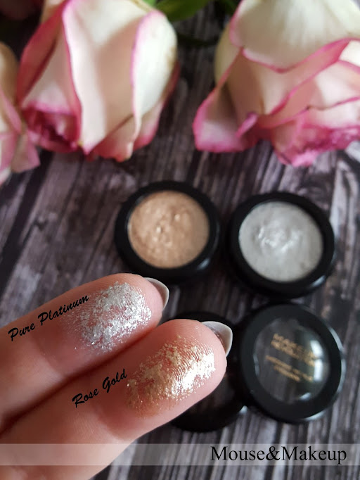 Makeup Revolution Eye Foils Pure Platinum Rose Gold