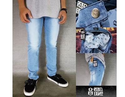 Celana Jeans Skinny Bio Blits Wash