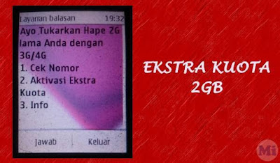 Ekstra Kuota Telkomsel 2 GB