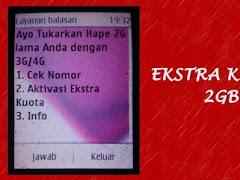 Trik Mendapatkan Ekstra Kuota Telkomsel 2 GB Seharga Rp 0,-