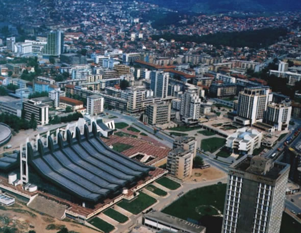 Pristina, Capital do Kosovo