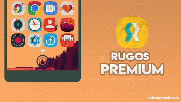 Rugos Premium Icon Pack v3.3 PAID
