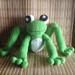 Handsome Frog Plush Toy Pattern