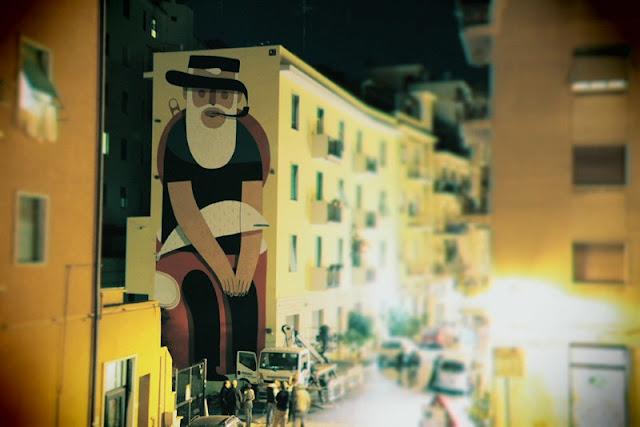 Уличный художник из Италии. Агостино Якурчи (Agostino Iacurci) 29