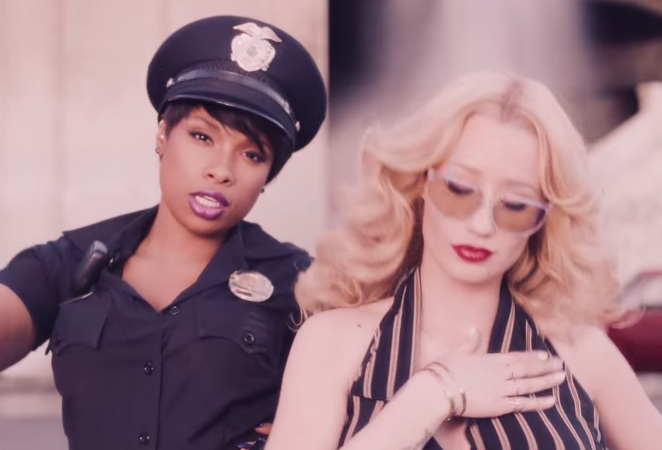 "Iggy Azalea ""Trouble"" Music Video Ft. Jennifer Hudson"