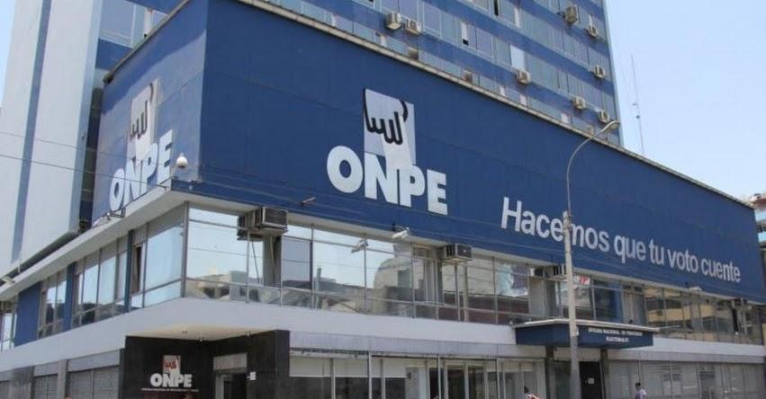 ELECCIONES 2017: ONPE inició la impresión de cédulas de sufragio para elecciones municipales del 10 de diciembre - www.onpe.gob.pe