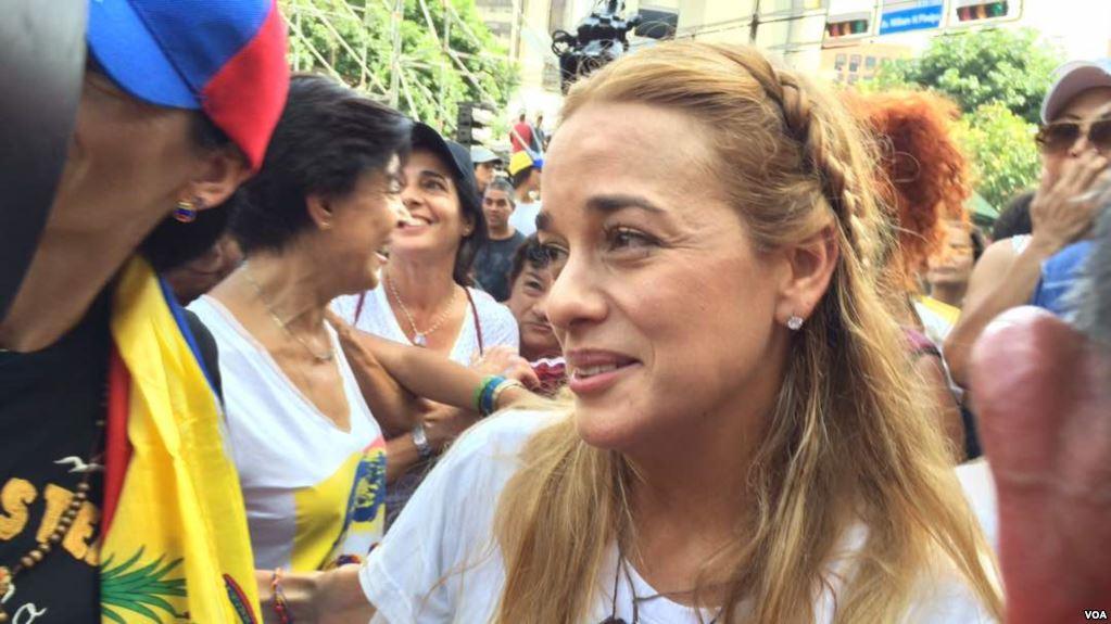 La esposa del opositor venezolano Leopoldo López se convirtió en activista política