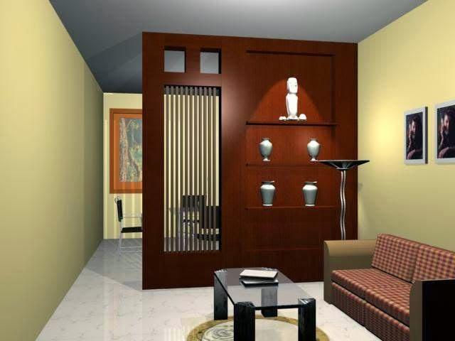Warna Yang Selaras Memberikan Efek Ruangan Begitu Nyaman Dan Posisi Meja Elegan Menjadikan Ruang Tamu Rumah Mungil Minimalis Modern Ditambah Dengan