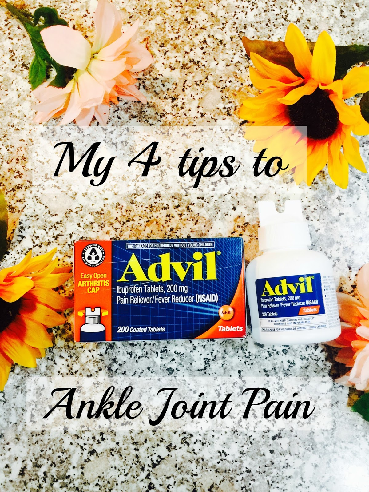 advil Arthritis, advil EZ caps, ankle joint pain, pain reliever, Advil,