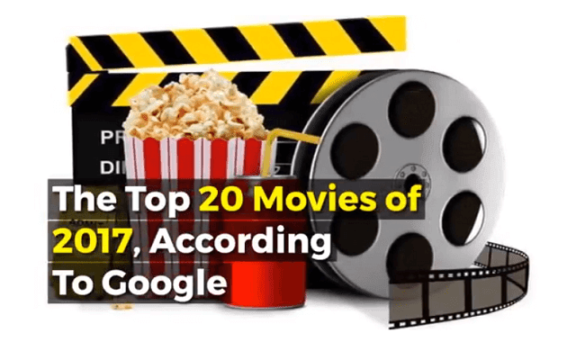 The Top 20 Movies of 2017, According To Google