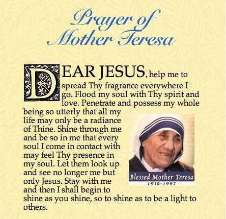 Catholic News World : #Quote to SHARE by Mother Teresa