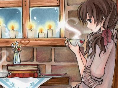 Một cốc cà phê với một thìa muối