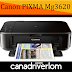 Canon PIXMA MG3620 Driver Download -  For Mac , Windows And Linux