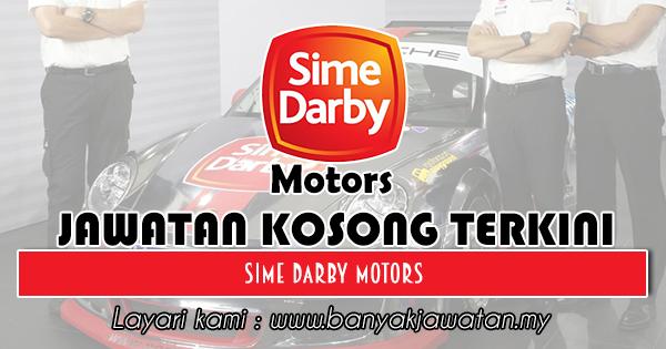 Jawatan Kosong 2018 di Sime Darby Motors