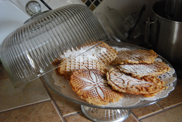 italian pizzelle recipe