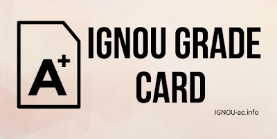 grade card of ignou