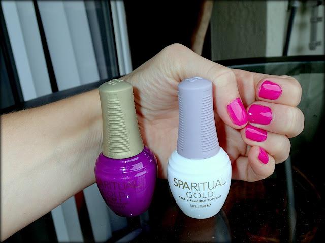 spa ritual gold bold week long wear free shipping at nail polish