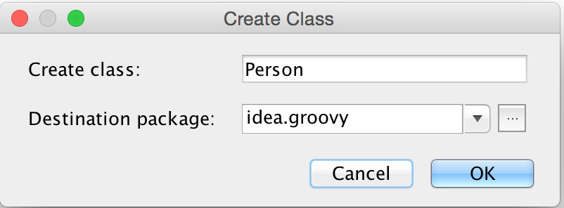 Groovy Goodness: Turn Map Into Class With IntelliJ IDEA