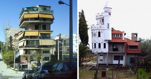 19 εξωφρενικά αυθαίρετα κτίσματα που βρίσκονται στην Ελλάδα