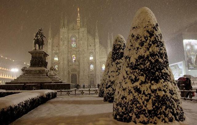 Épocas frias em Milão