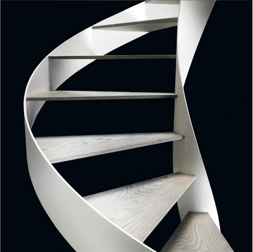 Tangga Stainless, Anda mungkin saja ingat tangga elegan perusahaan pada rumah minimalis unik sebelumnya, yaitu yang didesain untuk mereka yang mau warna tangga jadi bagian dari kehidupan di rumah,