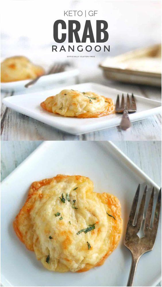 Cheesy Keto Crab Rangoons Recipe