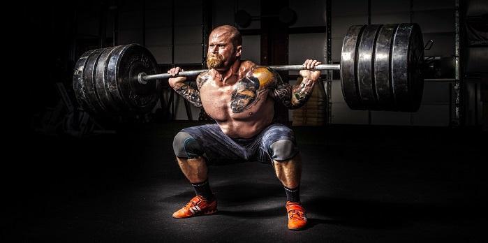 Μέγιστη δύναμη στο γυμναστήριο