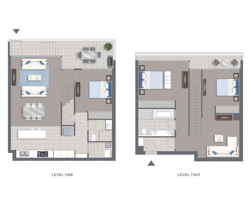 Planos de dormitorio con terraza - Plantas para habitacion ...