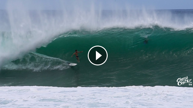 HEAVY PIPELINE Second Reef STILL Showing RAW FOOTAGE 2020