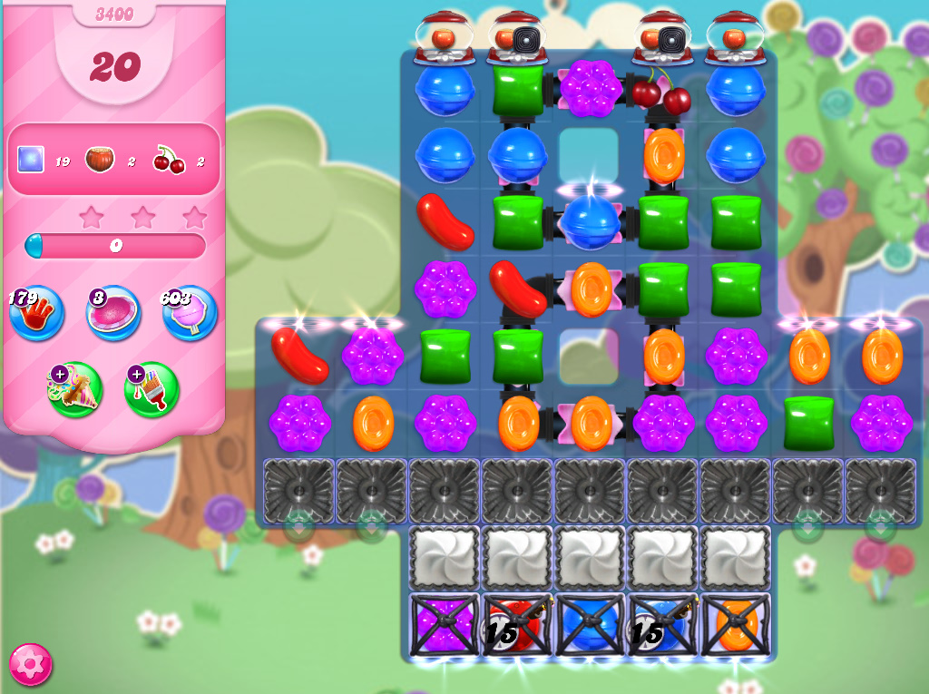 Candy Crush Saga level 3400