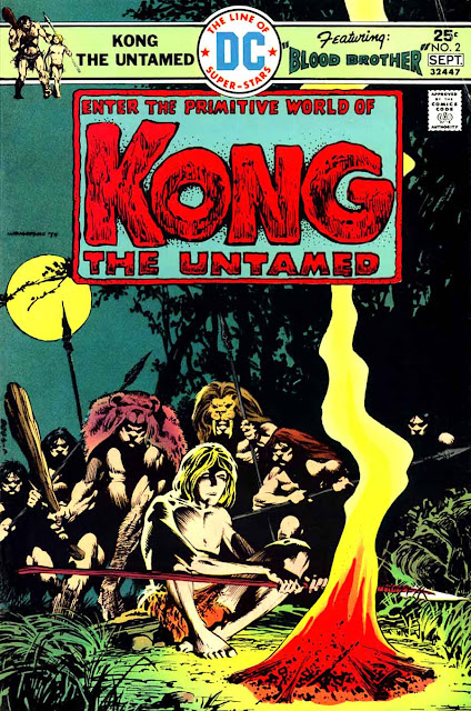 Kong the Untamed v1 #2 - Bernie Wrightson dc bronze age comic book cover art