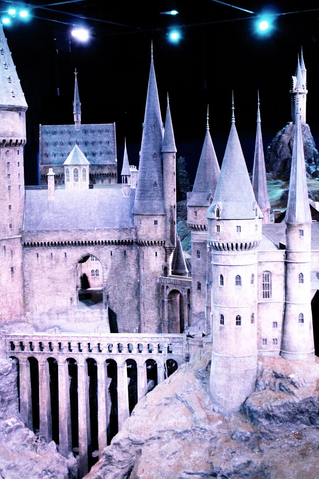 Scale Model of Harry Potter Hogwarts Castle