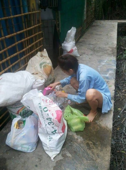 Ratu Cantik Anak Pemungut Sampah