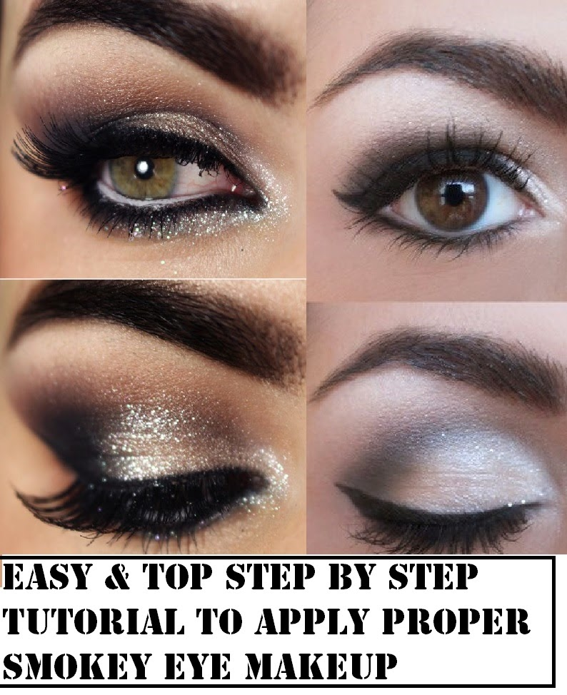 Step-By-Step-Tutorial-To-Apply-Proper-Smokey-Eye-Makeup